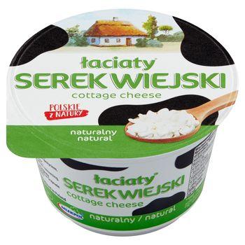 Łaciaty Serek wiejski naturalny 200 g