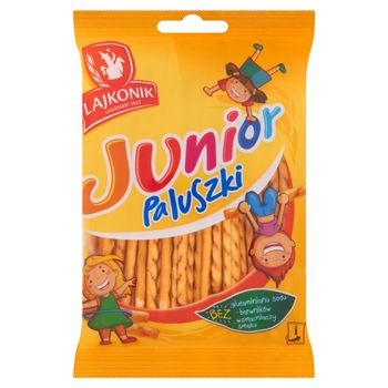 Lajkonik Junior Paluszki o smaku waniliowym 60 g