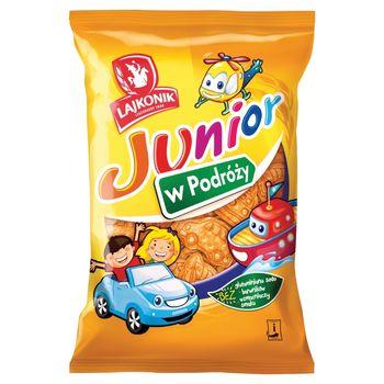 Lajkonik Junior W Podróży Drobne pieczywo o smaku waniliowym 100 g