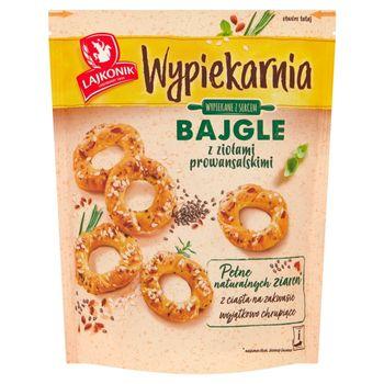 Lajkonik Wypiekarnia Bajgle z ziołami prowansalskimi 70 g