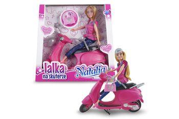 Lalka ARTYK Natalia na skuterze