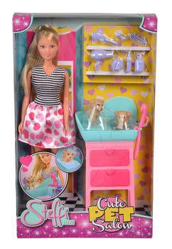 Lalka STEFFI LOVE Steffi Salon piekności dla psiaków 105733266
