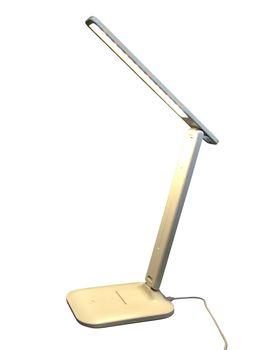 Lampka Biurkowa Składana Inter Point Biała 12x17x33 cm