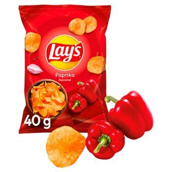 Lay's Chipsy ziemniaczane o smaku papryki 40 g