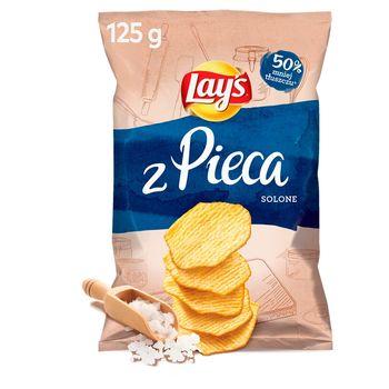 Lay's Oven Baked Pieczone formowane chipsy ziemniaczane solone 125 g