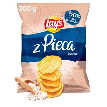 Lay's Oven Baked Pieczone formowane chipsy ziemniaczane solone 200 g