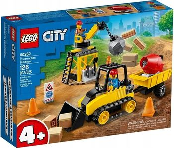 LEGO Buldożer budowlany 60252