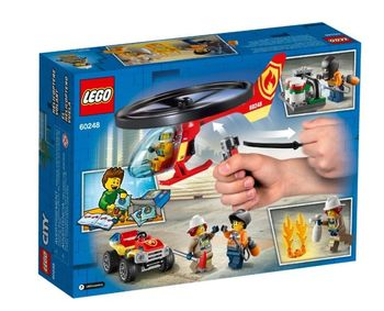 Lego City Helikopter strażacki 60248