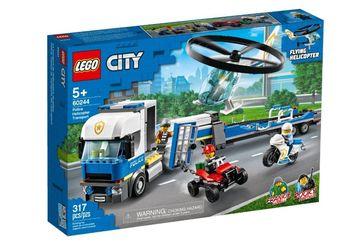 Lego City Laweta helikoptera 60244