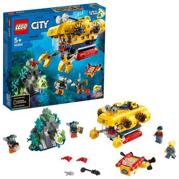 LEGO City Łódź podwodna badaczy oceanu 60264