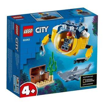 Lego City Oceaniczna miniłódź podwodna 60263