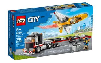 Lego City Transporter odrzutowca 60289
