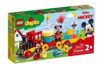 Lego Disney Urodzinowy pociąg myszek Miki i Minnie 10941