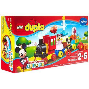 LEGO Duplo, Klocki plastikowe Parada urodzinowa 10597
