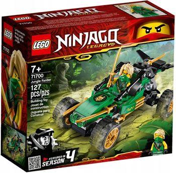 LEGO Ninjago Klocki Dżunglowy ścigacz 71700