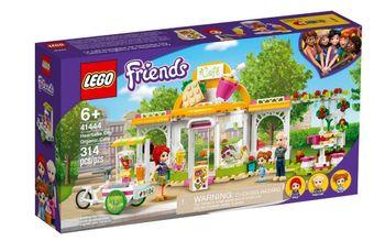 Lego Friends Ekologiczna kawiarnia w Heartlake 41444