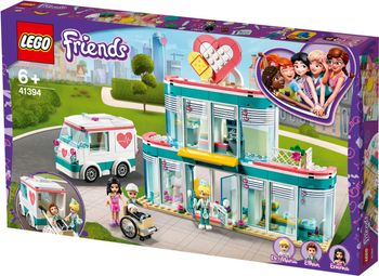 Lego Friends Szpital w Heatlakle 41394
