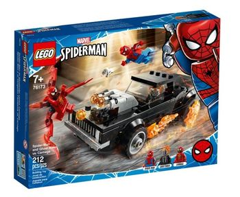 Lego Marvel Spider-Man  i upiorny jeździec 76173