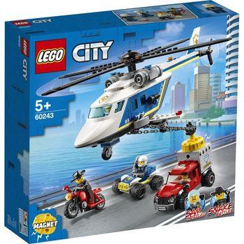 LEGO CITY Klocki Pościg helikopterem 60243