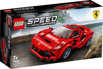 LEGO Speed, klocki plastikowe Ferrari F8 Tributo 76895