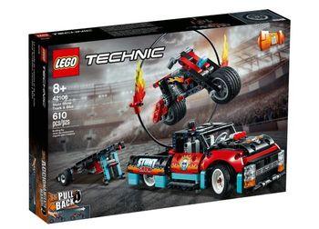 Lego Technic Furgonetka i motocykl 42106