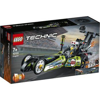 LEGO Technic, klocki plastikowe Dragster 42103