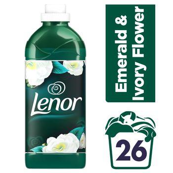Lenor Emerald & Ivory Flower Płyn do płukania tkanin 26prań