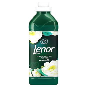 Lenor Emerald & Ivory Flower Płyn do płukania tkanin, 750ML, 25 prań