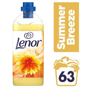 Lenor Summer Breeze Płyn do płukania tkanin 1,9 l, 63 prania