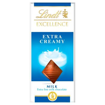 Lindt Excellence Czekolada mleczna 100 g