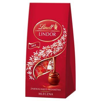 Lindt Lindor Praliny z czekolady mlecznej 100 g