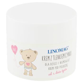 Linomag Krem z tlenkiem cynku dla dzieci i niemowląt od 1. dnia życia 50 ml