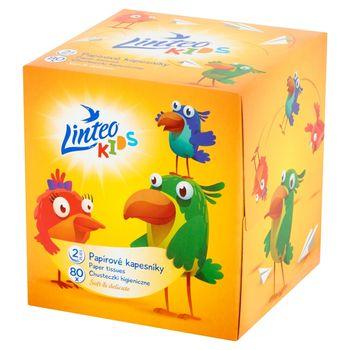 Linteo Kids Chusteczki higieniczne 80 sztuk