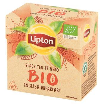 Lipton Bio Organiczna herbata czarna 36 g (20 torebek)
