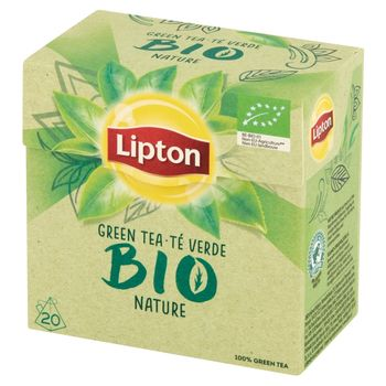 Lipton Bio Organiczna herbata zielona 28 g (20 torebek)