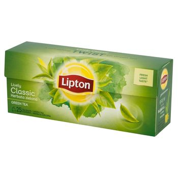 Lipton Classic Herbata zielona 32,5 g (25 torebek)