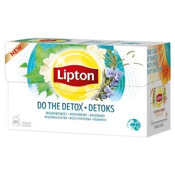 Lipton Herbatka ziołowa aromatyzowana detoks 32 g (20 torebek)