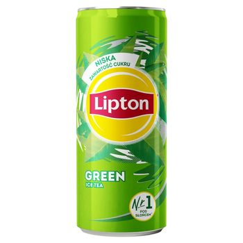 Lipton Ice Tea Green Napój niegazowany 330 ml