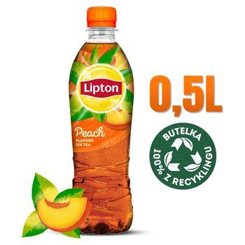 Lipton Ice Tea Peach Napój niegazowany 500 ml