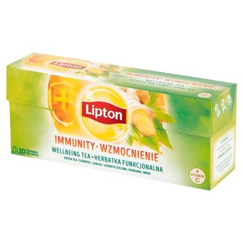 Lipton Wzmocnienie Herbatka funkcjonalna 32 g (20 torebek)