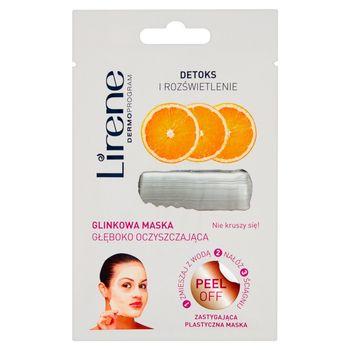 Lirene Detoks i rozświetlenie Glinkowa maska głęboko oczyszczająca 10 g