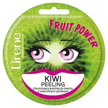 Lirene Fruit Power Złuszczający peeling do twarzy kiwi 10 ml