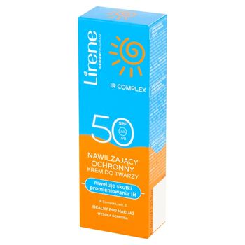 Lirene Nawilżający ochronny krem do twarzy SPF 50 40 ml