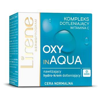 Lirene Oxy in Aqua Nawilżający hydro-krem dotleniający na dzień 50 ml