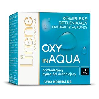 Lirene Oxy in Aqua Odmładzający hydro-żel dotleniający na noc 50 ml