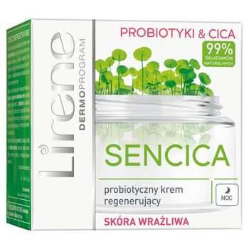 Lirene Sencica Probiotyczny krem regenerujący na noc 50 ml