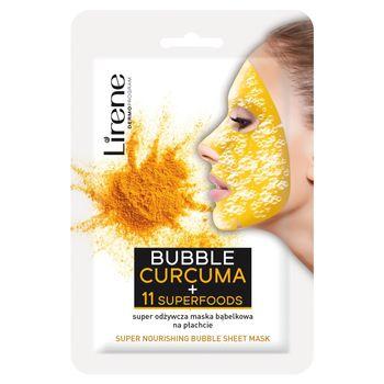 Lirene Super odżywcza maska bąbelkowa na płachcie