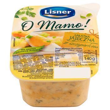 Lisner O Mamo! Sałatka jajeczna ze szczypiorkiem 140 g