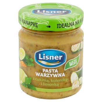 Lisner Pasta warzywna z cukinią kolendrą i limonką 110 g