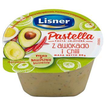 Lisner Pastella Pasta jajeczna z awokado i chili 80 g